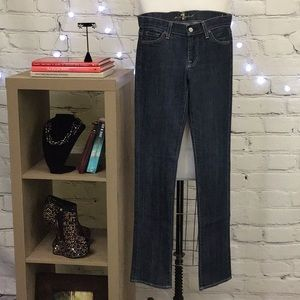 5/$25 Seven For All Mankind Jeans Roxy Fit Size 28
